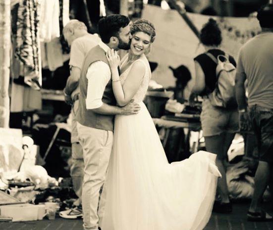 יואב ולטם ביום החתונה - צילום פוני מסיקה