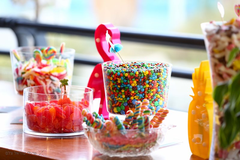 תוספות משניות בתכנון החתונה - ממתקים מגומי